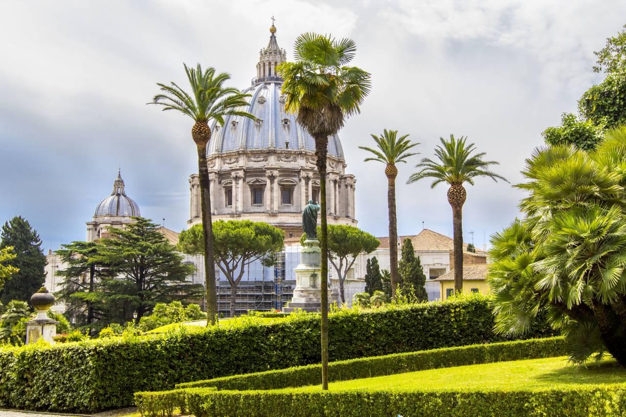 I Giardini Vaticani: dove passeggia il Papa
