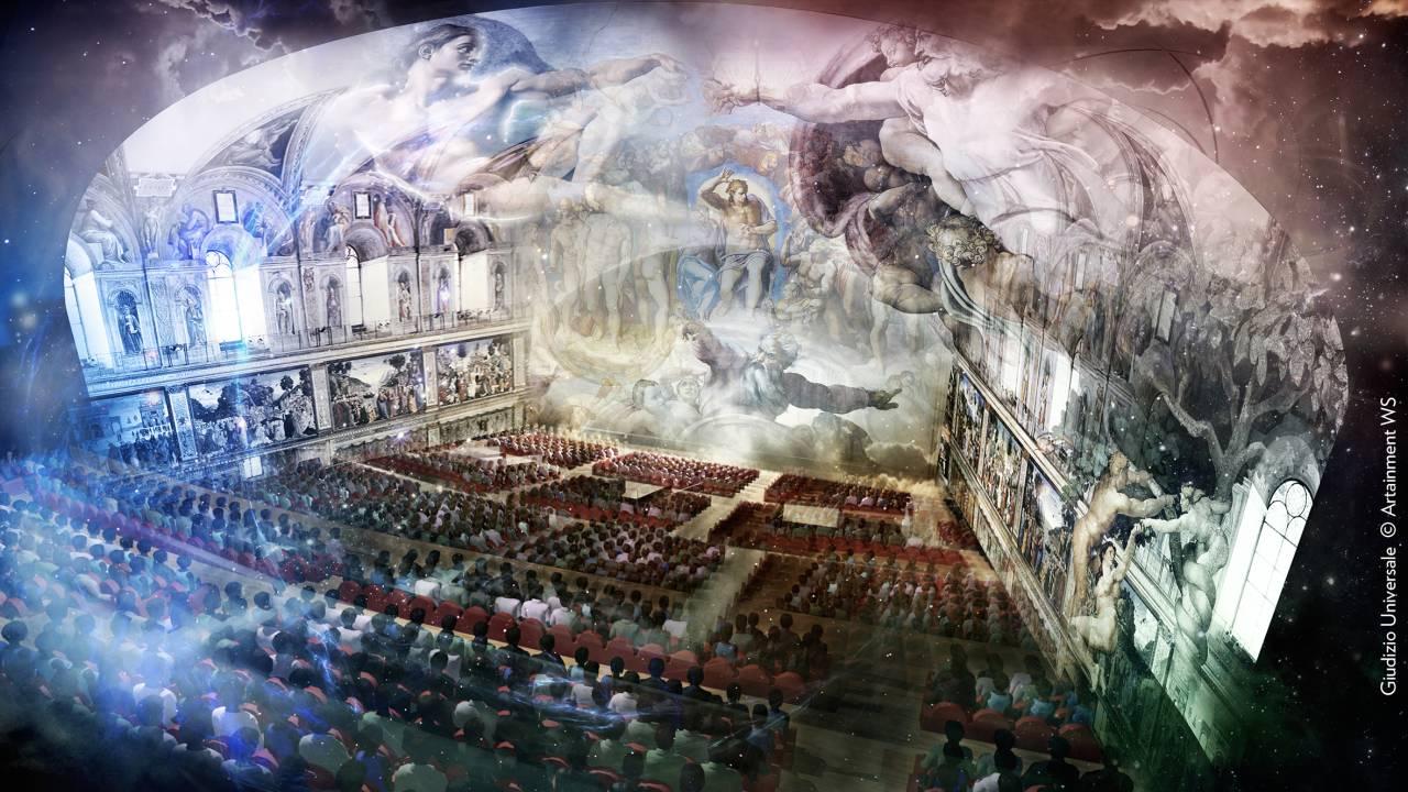 EXTRA CATALOGO - GIUDIZIO UNIVERSALE - ROMA Auditorium Conciliazione