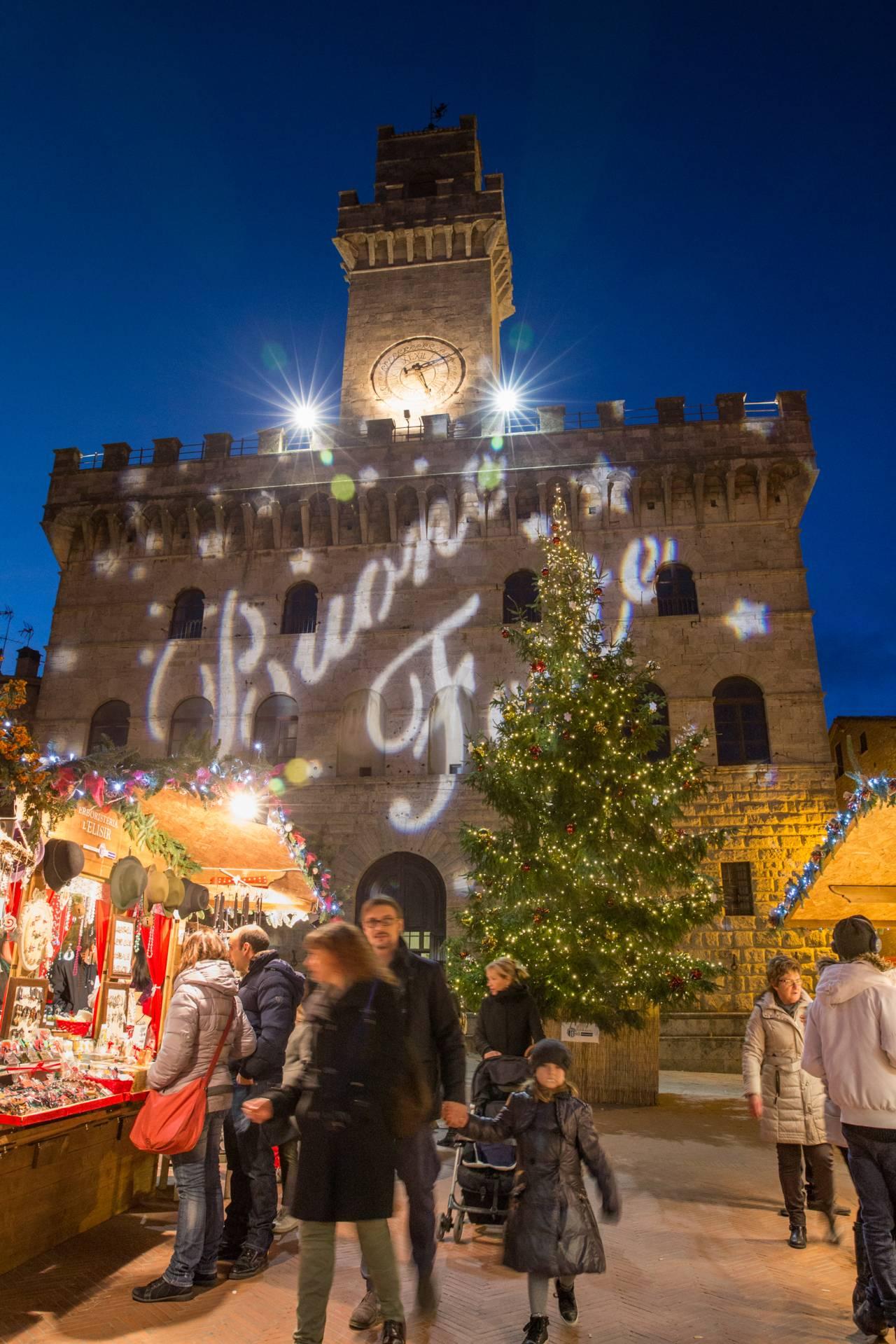 Capodanno 2019  al  Castello di Valenzano e Mercatini Natalizi di Montepulciano