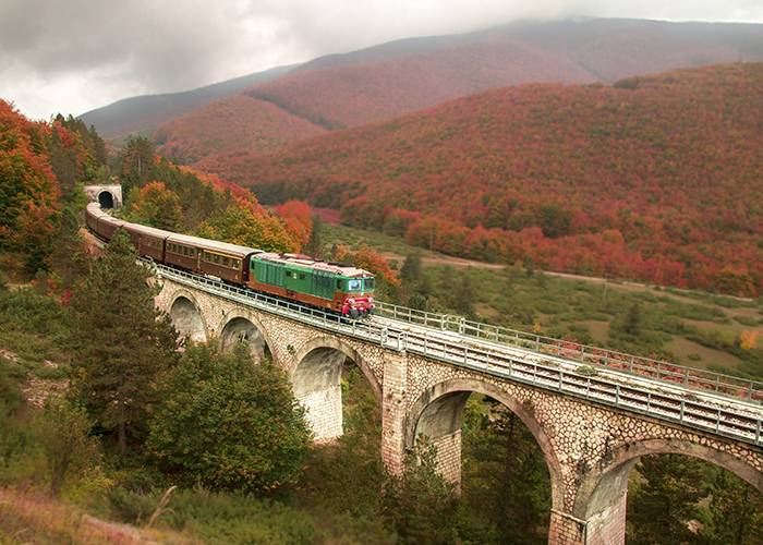 TRANSIBERIANA D'ITALIA viaggio in treno storico