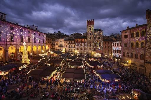 Mercatini di Natale di Arezzo in giornata