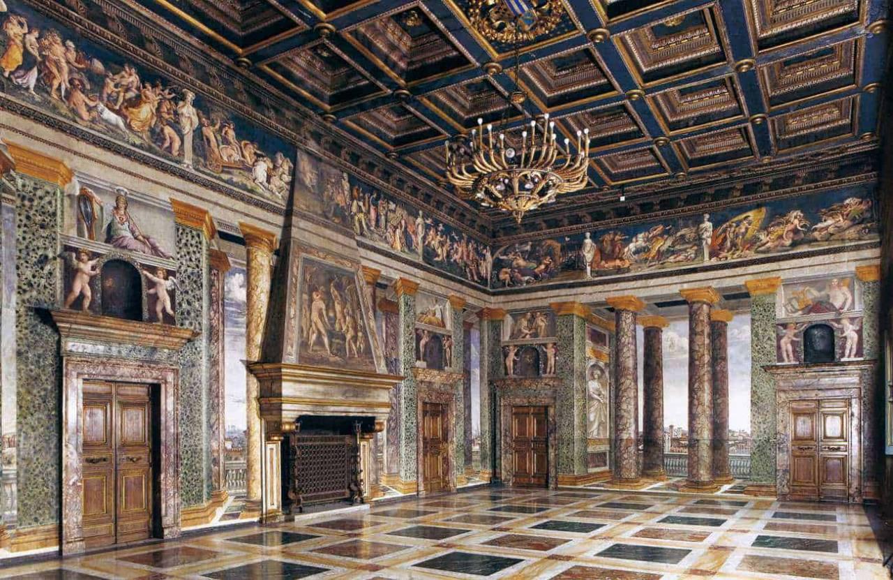 ROMA - Villa Farnesina e gli affreschi di Raffaello
